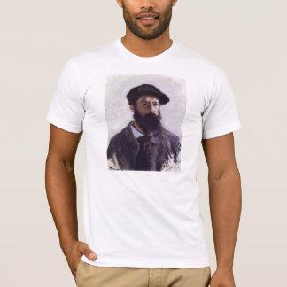 Claude Monet - Selbstporträt im Barett T-Shirt