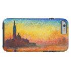 Claude Monet-Sonnenuntergang in der Tough iPhone 6 Hülle
