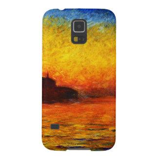 Claude Monet-Sonnenuntergang in Venedig Galaxy S5 Hülle
