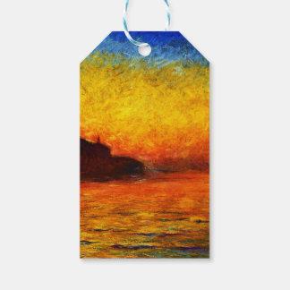 Claude Monet-Sonnenuntergang in Venedig Geschenkanhänger