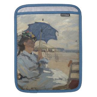 Claude Monet-Strand-Szene Sleeve Für iPads