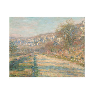 Claude Monet - Straße von La Roche-Guyon Leinwanddruck