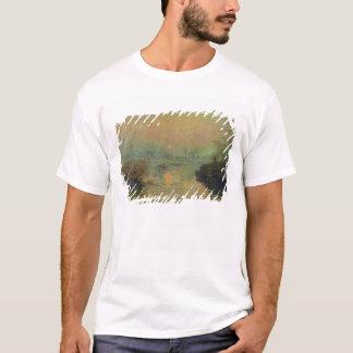 Claude Monet | Sun, der über die Seine einstellt T-Shirt