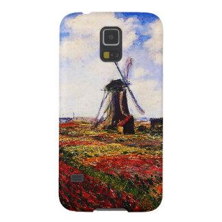 Claude Monet-Tulpen Felder Samsung S5 Cover