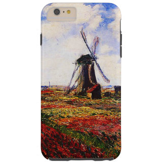 Claude Monet-Tulpen Felder Tough iPhone 6 Plus Hülle
