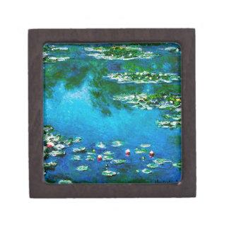 Claude Monet-Wasser-Lilien Kiste