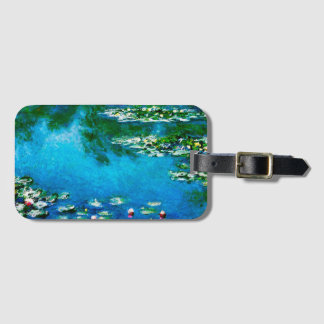 Claude Monet-Wasser-Lilien Kofferanhänger