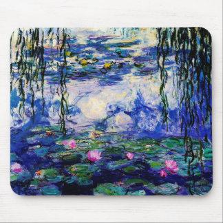 Claude Monet-Wasser-Lilien Mauspads