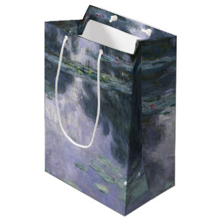 Claude Monet-Wasser-Lilien Nymphéas 1907 GalleryHD Mittlere Geschenktüte