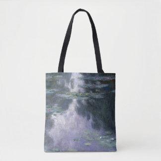 Claude Monet-Wasser-Lilien Nymphéas 1907 GalleryHD Tasche