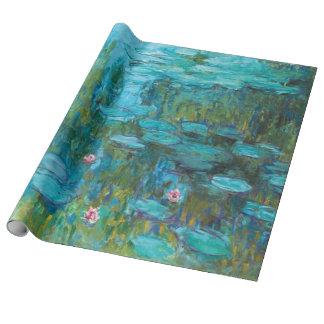 Claude Monet-Wasser-Lilien Nymphéas GalleryHD Geschenkpapier