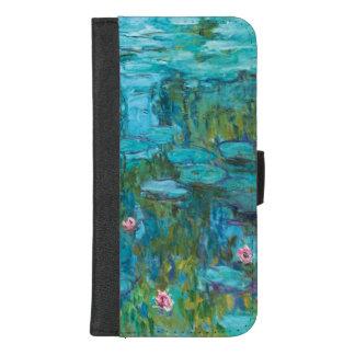 Claude Monet-Wasser-Lilien Nymphéas GalleryHD iPhone 8/7 Plus Geldbeutel-Hülle