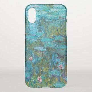 Claude Monet-Wasser-Lilien Nymphéas GalleryHD iPhone X Hülle