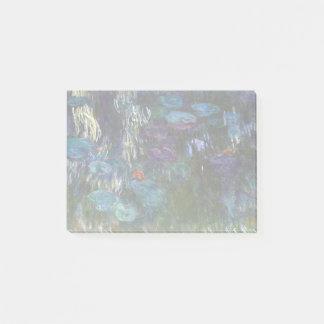 Claude Monet-Wasser-Lilien Post-it Klebezettel