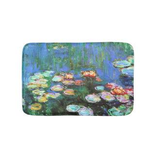 Claude Monet-Wasser-Lilien-Teich Badematten