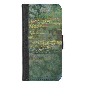 Claude Monet-Wasser-Lilien-Teich-schöne Kunst iPhone 8/7 Geldbeutel-Hülle