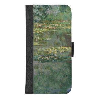 Claude Monet-Wasser-Lilien-Teich-schöne Kunst iPhone 8/7 Plus Geldbeutel-Hülle