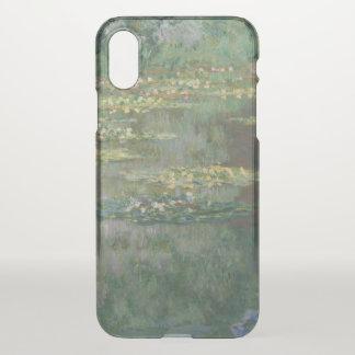 Claude Monet-Wasser-Lilien-Teich-schöne Kunst iPhone X Hülle