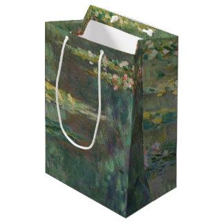 Claude Monet-Wasser-Lilien-Teich-schöne Kunst Mittlere Geschenktüte