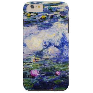 Claude Monet-Wasser-Lilien Tough iPhone 6 Plus Hülle