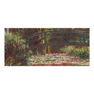 Claude Monet Werbekarte