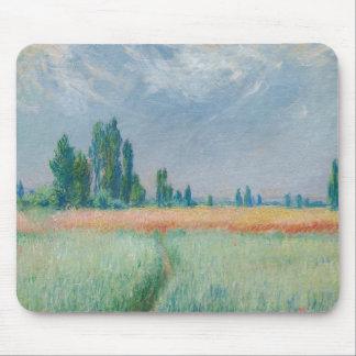 Claude Monet - Wheatfield Mousepads