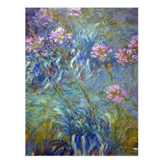 Claude MonetAgapanthus Postkarte