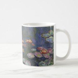 Claude Monets Wasser-Lilien Kaffeetasse