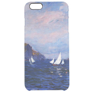Claudec$monet-klippen und -Segelboote bei Durchsichtige iPhone 6 Plus Hülle