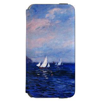 Claudec$monet-klippen und -Segelboote bei Incipio Watson™ iPhone 6 Geldbörsen Hülle