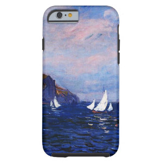 Claudec$monet-klippen und -Segelboote bei Tough iPhone 6 Hülle