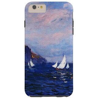Claudec$monet-klippen und -Segelboote bei Tough iPhone 6 Plus Hülle