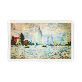 Claudec$monet-regatta in Argenteuil Acryl Tablett