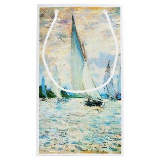 Claudec$monet-regatta in Argenteuil Kleine Geschenktüte