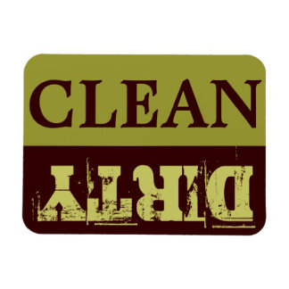 CLEAN-DIRTY Spülmaschinen-Magnet - Flex - 3