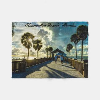 Clearwater Strand, Florida Fleecedecke