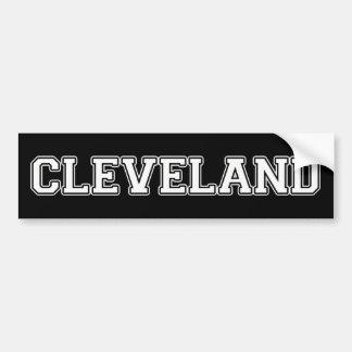 Cleveland Autoaufkleber