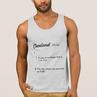 Cleveland-Definition Tank Top