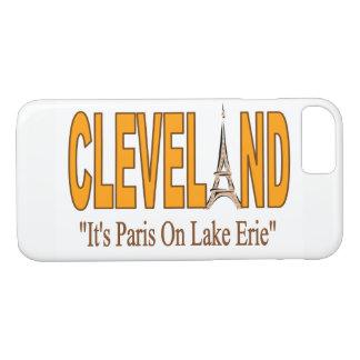 Cleveland, ist es Paris auf der iPhone 8/7 Hülle