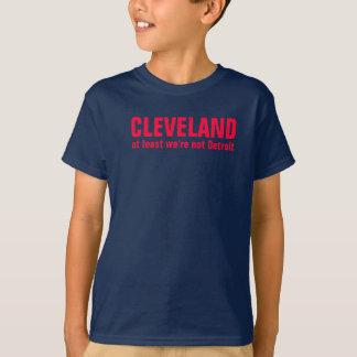 Cleveland mindestens sind wir nicht Detroit T-Shirt