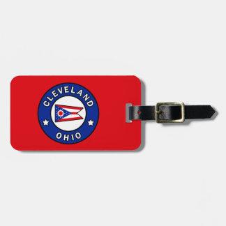 Cleveland Ohio Gepäckanhänger