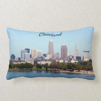 Cleveland Ohio klassisches See-Skyline-Kissen Lendenkissen
