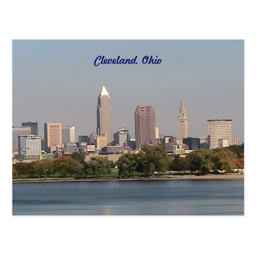 Cleveland Ohio, Seeseite-Postkarte