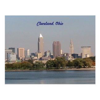 Cleveland Ohio Seeseite-Postkarte