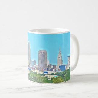 Cleveland, Ohio Umgriffsskyline-Tasse Tasse
