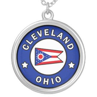 Cleveland Ohio Versilberte Kette