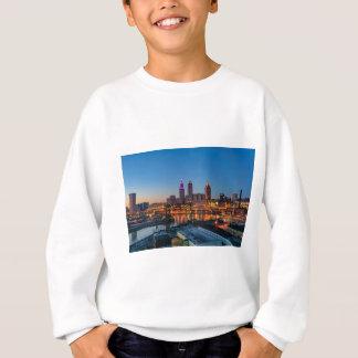 Cleveland-Skyline am Sonnenuntergang Sweatshirt