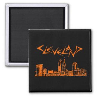 Cleveland-Skyline Magnete