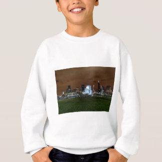 Cleveland-Skyline nachts Sweatshirt