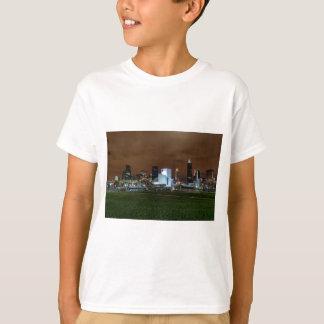 Cleveland-Skyline nachts T-Shirt